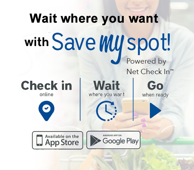 Save my Spot - Why wait in line?