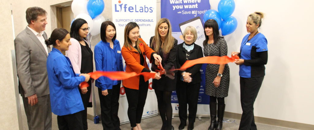 Burnaby LifeLabs grand opening